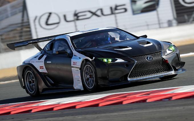 Lexus LC – Test al Fuji in vista della 24 Ore del Nurburgring