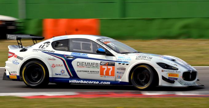 GT4 – Villorba Corse con due Maserati nella Central European Cup