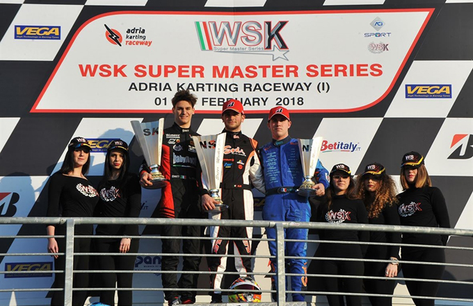 WSK Super Master Series – La prima tappa all'Adria Karting