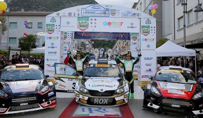 IRCup – Rally Internazionale Lirenas l'8^ edizione dal 6 all'8 aprile a Cassino