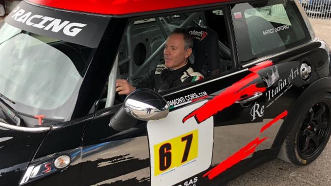 Loffredo nel Campionato Italiano Velocità Montagna con Mini