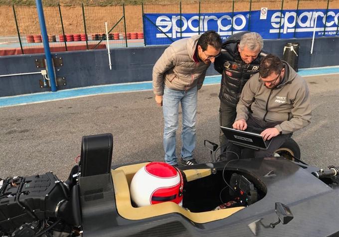 Italiano Sport Prototipi – Primo shakedown per la Wolf GB08 Thunder