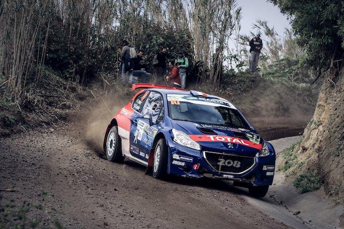 ERC | Debutto positivo per Peugeot Sport con Laurent Pellier