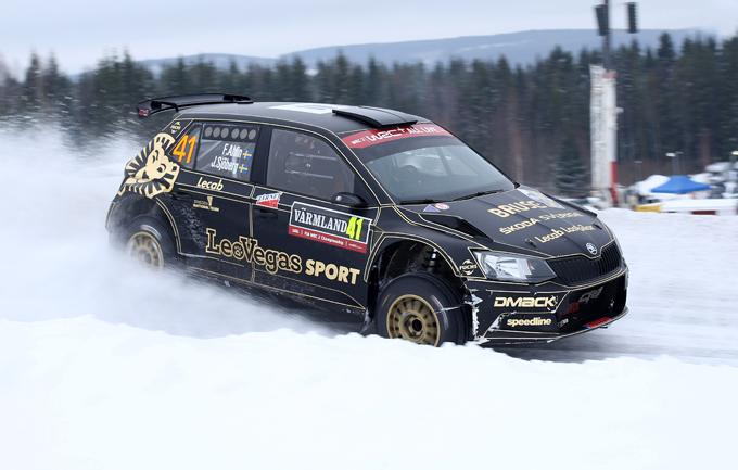 FIA ERC – Fredrik Ahlin nell'ERC Junior Under 28 con CA1 Sport