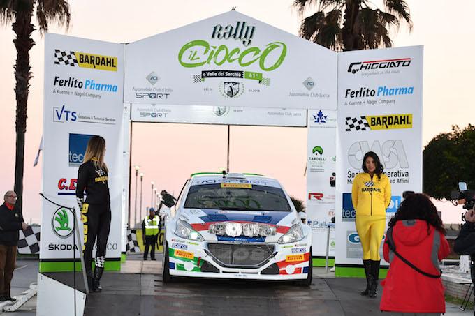 Peugeot con Ucci-Ussi ha vinto il 41° Rally il Ciocco e Valle del Serchio [VIDEO]
