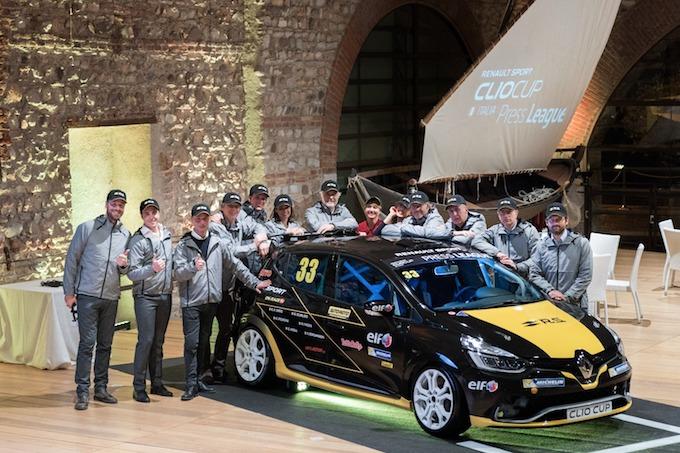 Renault Clio Cup, si rinnova la Press League nel 2018