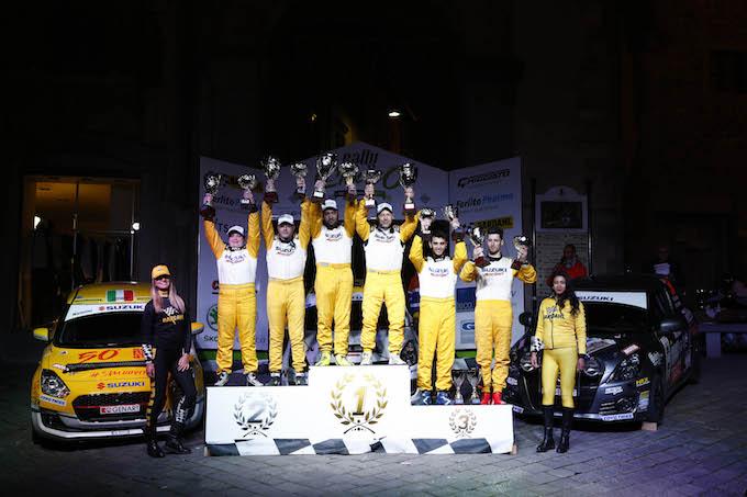 Suzuki Rally Trophy, debutto vincente per Simone Rivia