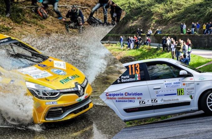 Trofei Renault Rally con Clio e Twingo assieme a Michelin