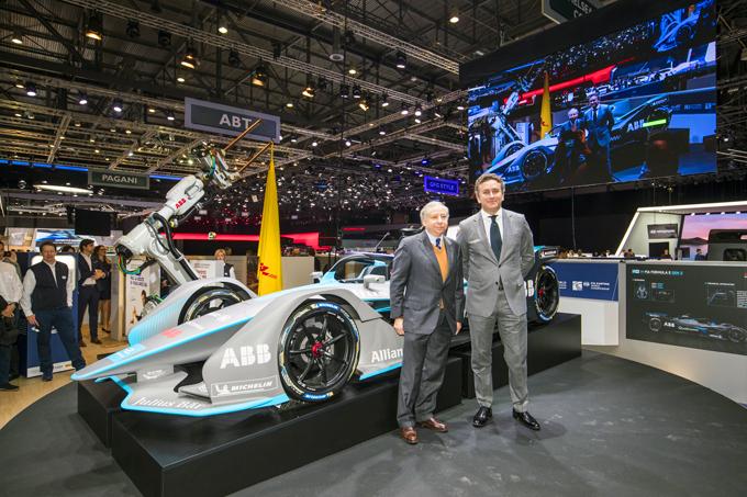 Formula E: Svelata al pubblico la nuova vettura che avrà impianto frenante Brembo