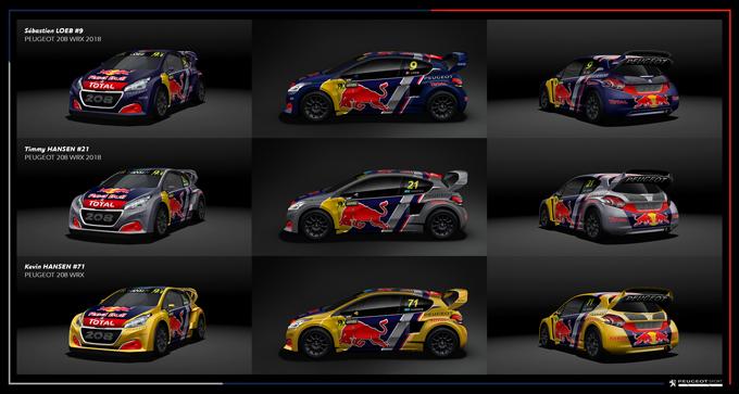 Peugeot Sport sbarca ufficialmente nel FIA World Rallycross con tre 208 WRX