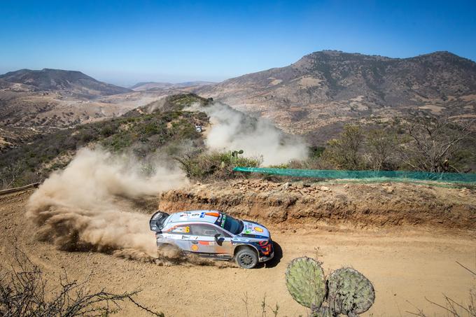 WRC: Hyundai rafforza la propria leadership in Messico grazie al podio di Sordo