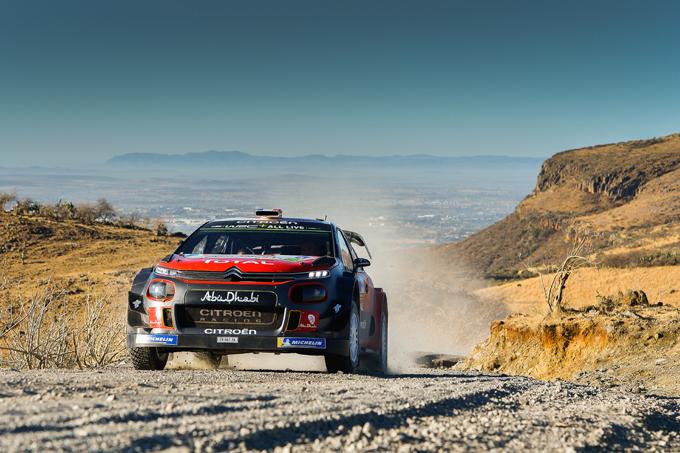 WRC: Citroen a podio con Meeke, Loeb colpito da una foratura