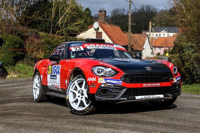 Abarth 124 Rally, altro weekend da protagonista dalla strada all'Italian F4