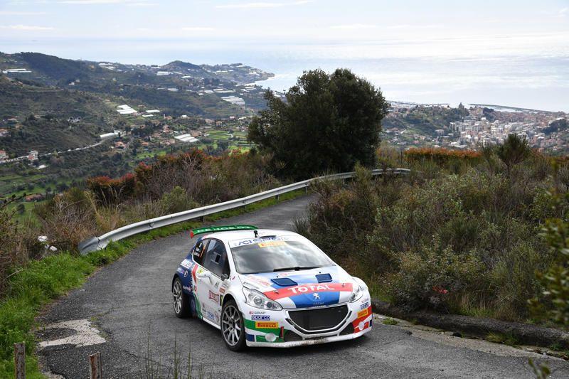 Rallye Sanremo   La prima giornata: la leadership di Ucci-Ussi