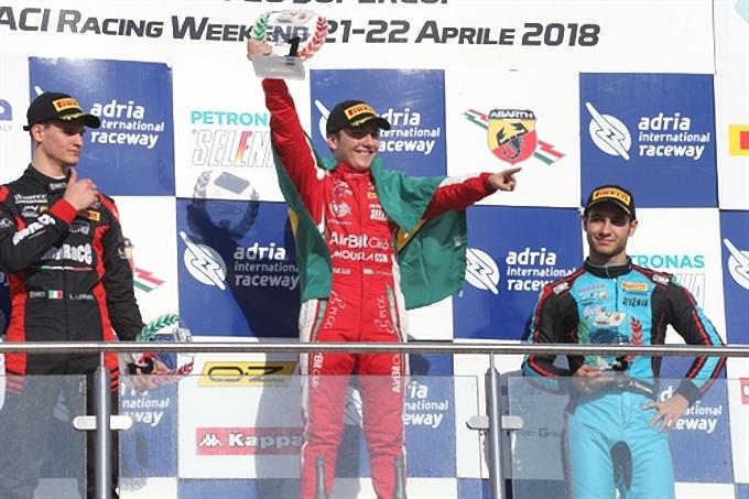 F4 Italia | Fittipaldi e Lonardi protagonisti del primo round di stagione