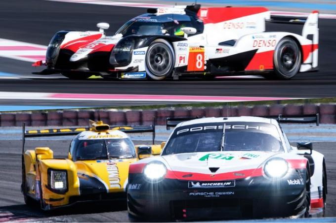 WEC   Toyota comanda dopo la 30 ore di test a Le Castellet