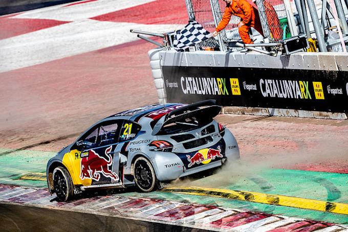 Rallycross | Peugeot sul podio a Barcellona con la 208 WRX [VIDEO]