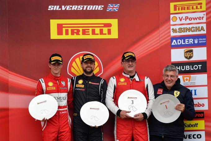 Ferrari Challenge | I vincitori della prima giornata del round di Silverstone