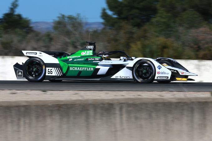 Formula E | La nuova Audi e-tron FE05 in pista con Daniel Abt
