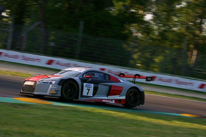 GT Italia | Fassler e Baruch regalano ad Audi Sport due pole, Fisichella vince Gara 1