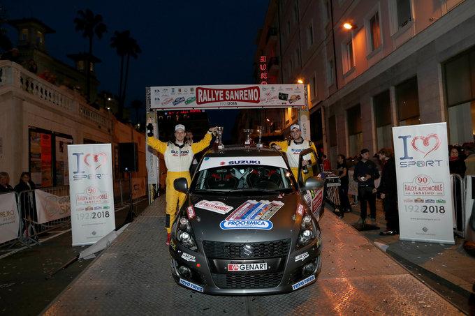 Suzuki Rally Trophy | Il trionfo di Cogni nel secondo appuntamento di stagione