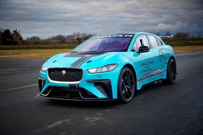 Jaguar I-Pace eTrophy pronto al debutto all'E-Prix di Berlino