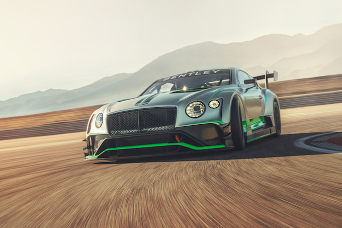 Bentley Continental GT3, presentata la nuova versione [VIDEO]