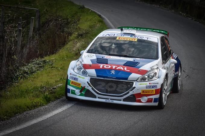 CIR | Ad Andreucci e Peugeot la PS1 del Rallye Sanremo 2018 [VIDEO]