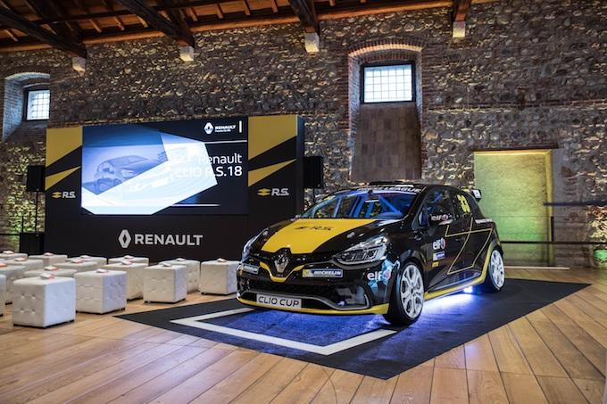 Renault Clio Cup 2018, via alle danze sul circuito del Mugello