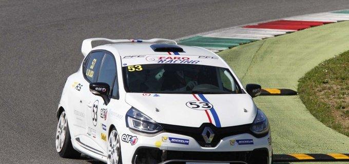Renault Clio Cup Italia | Simone Di Luca (Faro Racing) vince il primo round al Mugello