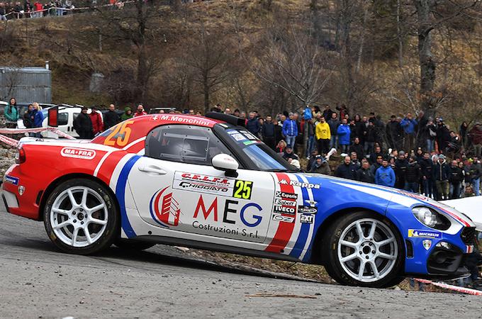 WRC | Abarth al Tour de Corse con quattro 124 Rally