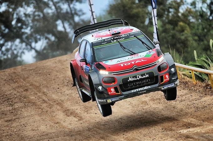 WRC | Le Citroen C3 assaggiano positivamente la terra argentina