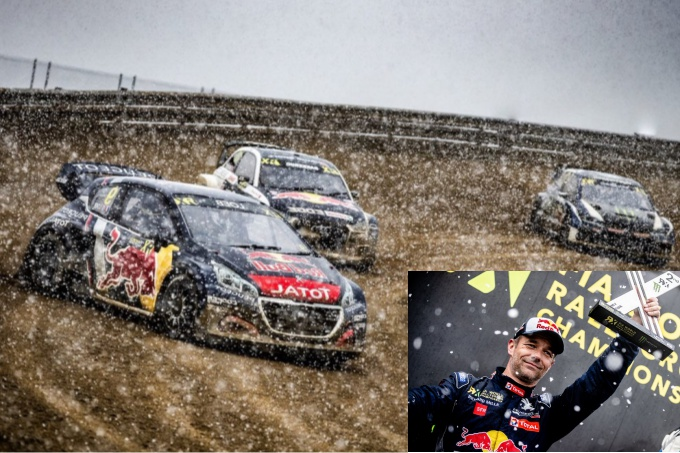 Rallycross | Peugeot nuovamente sul podio con Loeb in Portogallo [VIDEO]
