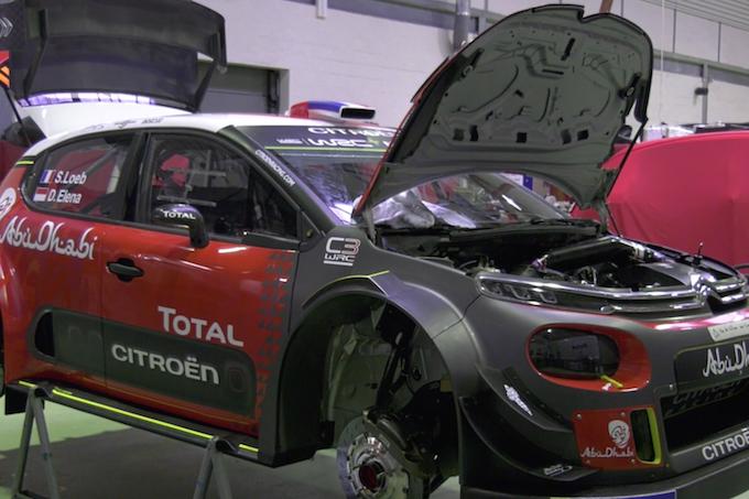 WRC   Alla scoperta della Citroen Racing Factory [VIDEO]