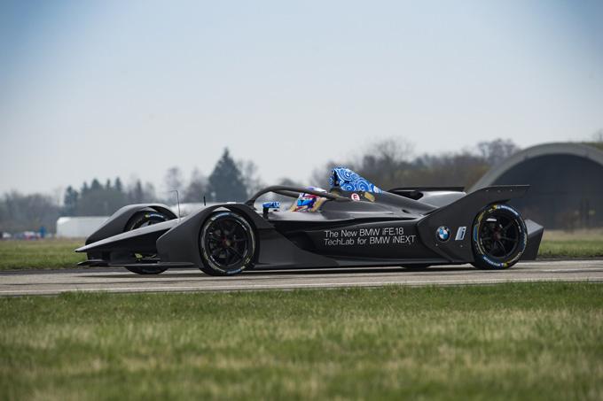 Formula E | BMW scende in pista per la prima volta con la nuova iFE.18