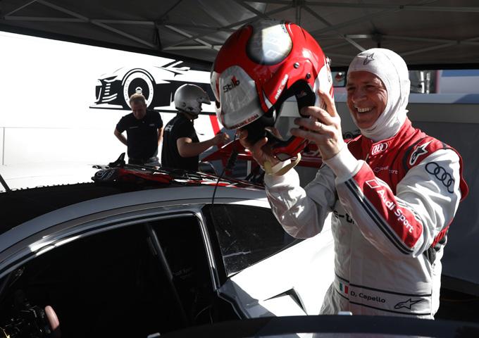Formula E | Parigi: Dindo Capello racconta l'Audi e-tron Vision Gran Turismo [VIDEO]