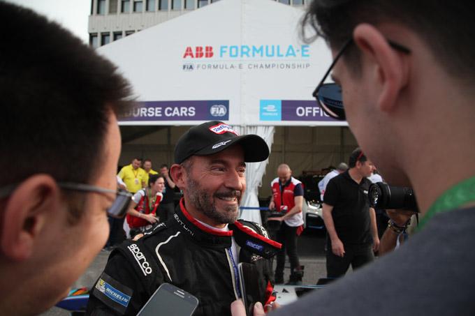 Formula E – Roma | Max Biaggi entusiasta del primo assaggio di Formula E