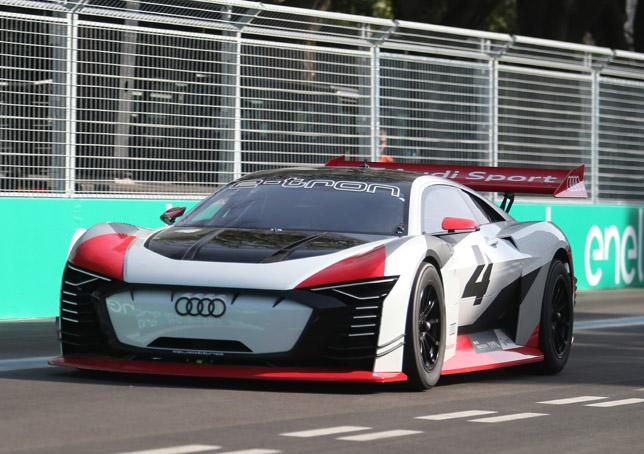 Formula E – Roma | Audi e-tron Vision Gran Turismo al debutto con Dindo Capello