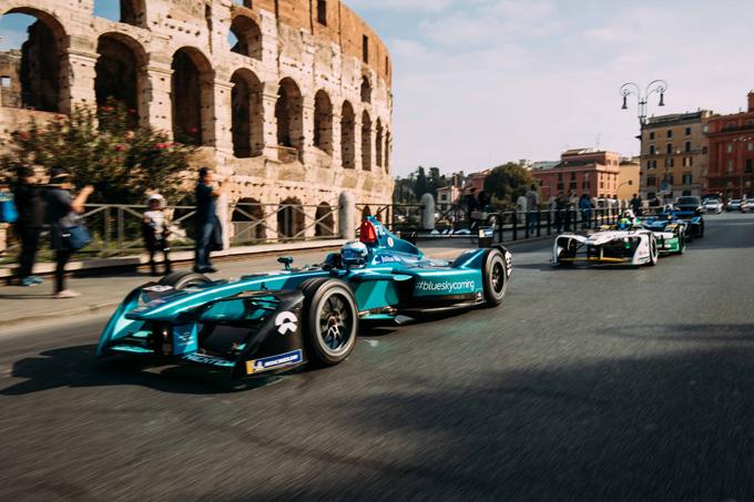 Formula E a Roma, il futuro è l'elettrico