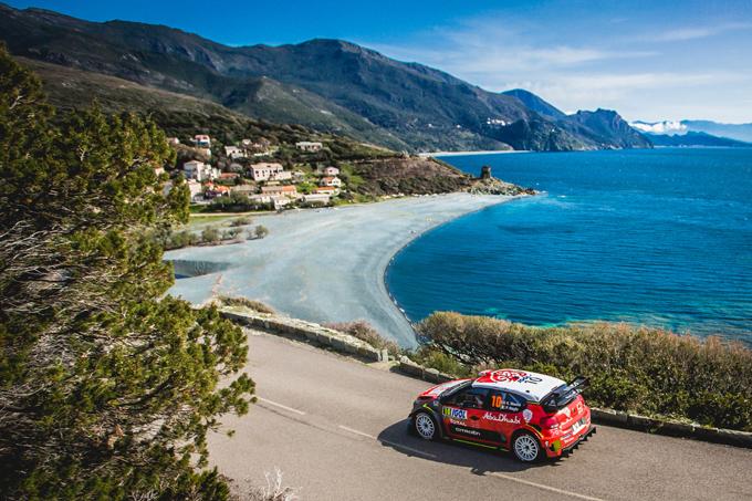 WRC | Citroen Racing coglie un doppio podio nella Power Stage al Tour de Corse