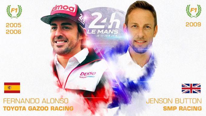 FIA WEC | Alonso e Button: dopo il Mondiale F1, la 24 Ore di Le Mans per fare la storia [VIDEO]