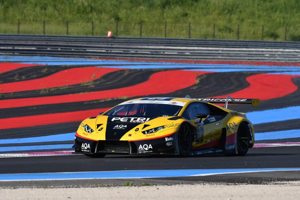 Campionato Italiano GT | Vittoria Lamborghini nell'appuntamento di Le Castellet