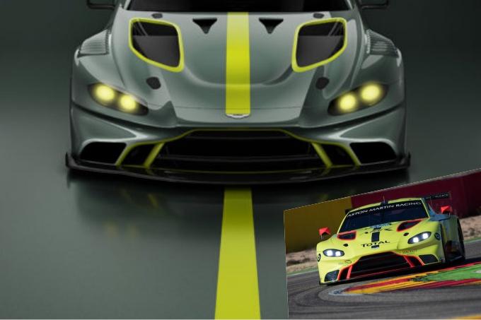 Aston Martin Vantage GT3 e GT4, il nuovo modello arriva nel 2019