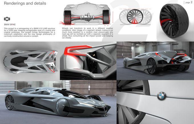 FIA WEC | Ecco Spike, l'avveniristico progetto di un prototipo BMW per la 24 Ore di Le Mans