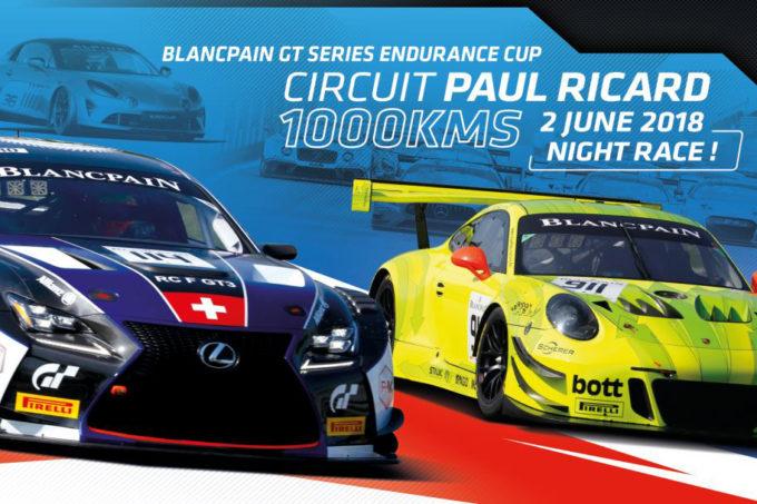Blancpain | In arrivo la 1000 Km del Paul Ricard in notturna per l'Endurance Cup