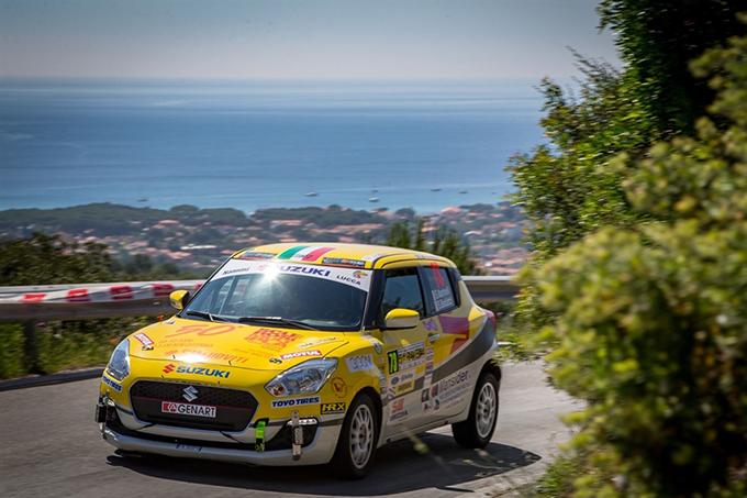 Suzuki Rally Trophy | Passo falso per Martinelli al Rallye Elba con la nuova vettura