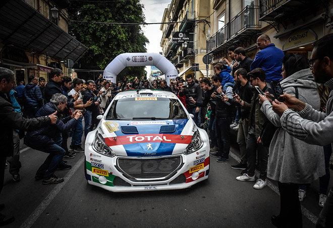 CIR | Andreucci e Andreussi in azione al Rally Targa Florio [VIDEO]
