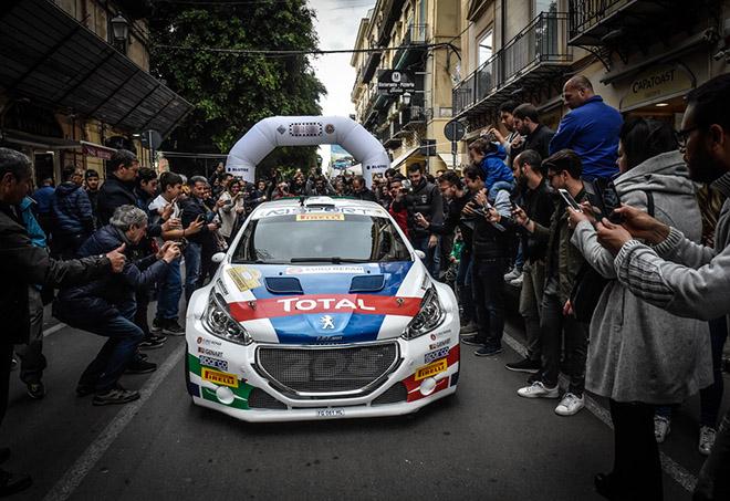 CIR | Andreucci e Andreussi in azione al Rally Targa Florio [VIDEO]