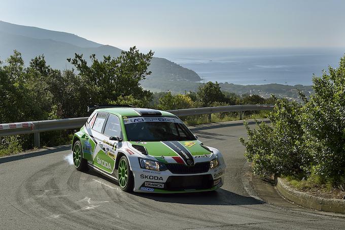 CIR | Skoda sul secondo gradino del podio al Rallye Elba 2018