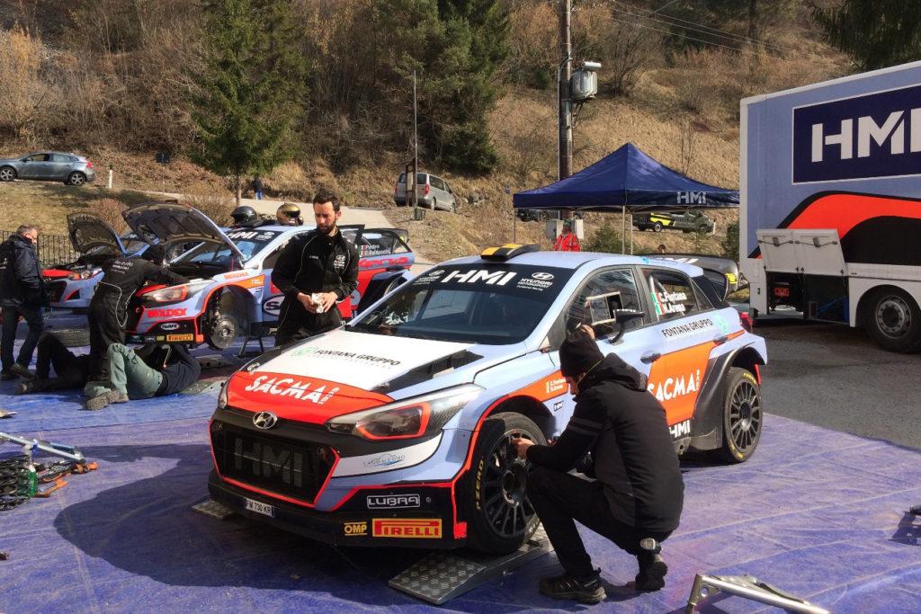 CIWRC | HMI presente al Rally del Salento con tre vetture